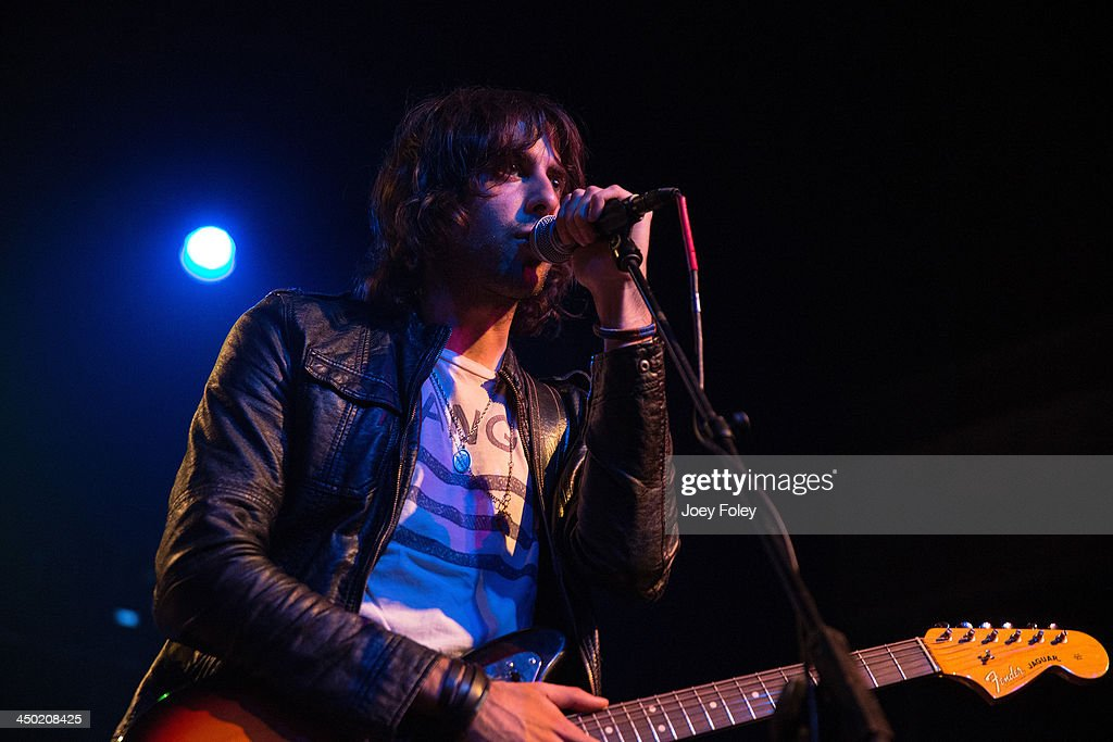 Anthony Polcino of Beat Club performs in concert at Egyptian Room at Old National Centre on November 16, 2013 in Indianapolis, Indiana.