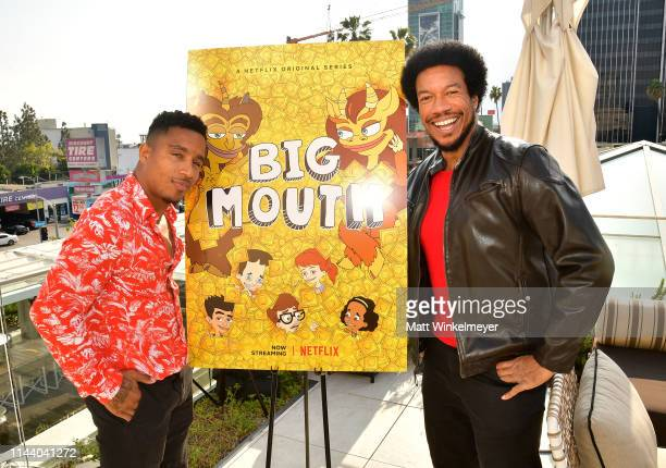 Anthony 'Pretty Boy' Taylor and Rico E Anderson attend the Netflix Adult Animation QA and Reception on April 20 2019 in Hollywood California
