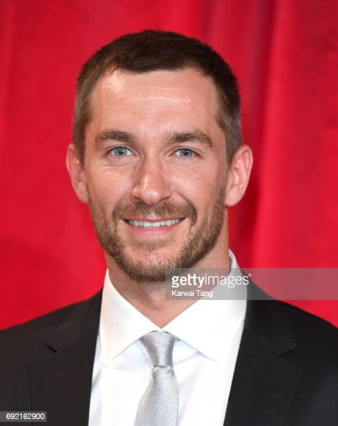 Anthony Quinlan attends the British Soap Awards at The Lowry Theatre on June 3 2017 in Manchester England