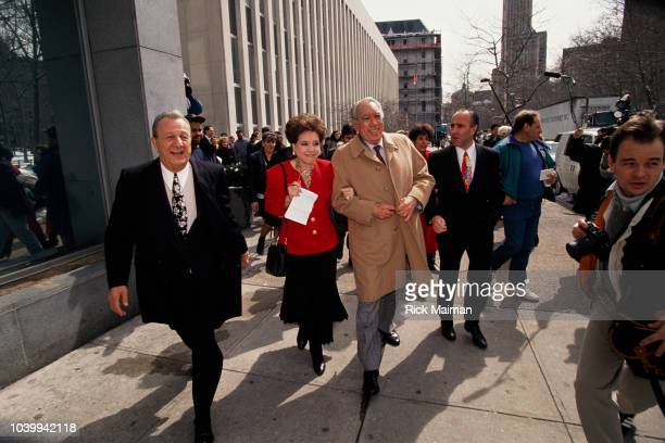 Anthony Quinn during the trial of John Joseph Johnny Boy Gotti Jr head of the Gambino crime family currently being charged with racketeering murder...