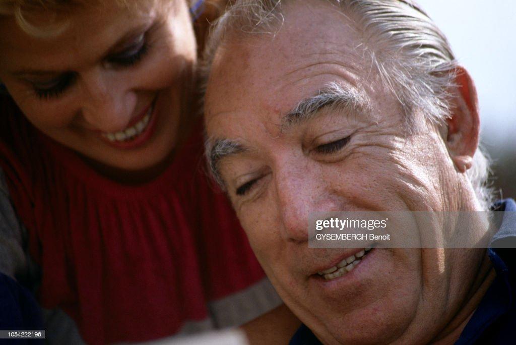 """AVA GARDNER ANTHONY QUINN /""""REGINA ROMA/"""" JEAN-YVES PRATE PHOTO CM"""