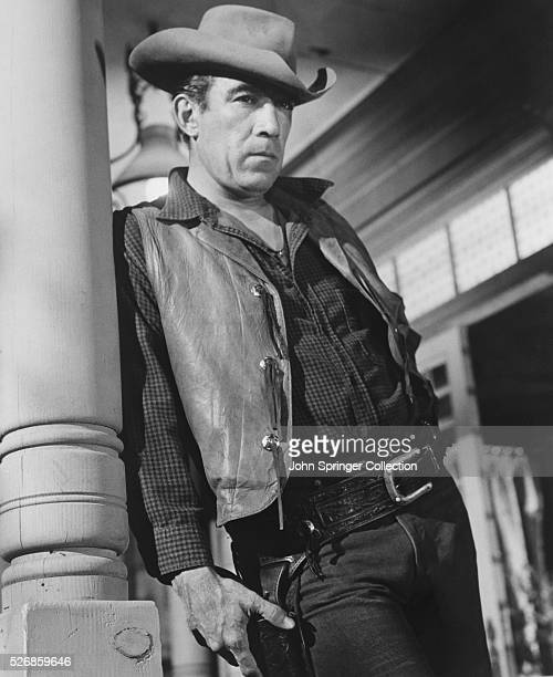 Anthony Quinn plays the role of Craig Belden in the 1959 western Last Train from Gun Hill