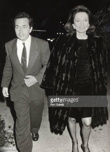 Anthony Radziwill and Lee Radziwill during Cocktail Party Welcoming Pierre Salinger Back to New York in New York City New York United States