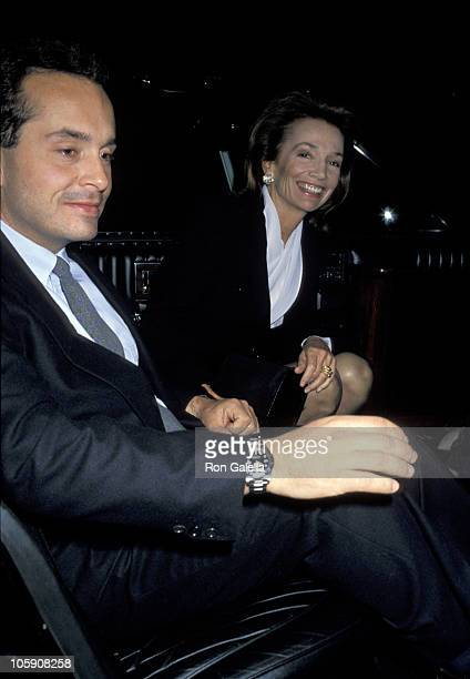 Anthony Radziwill and Lee Radziwill during Premiere of Cinema Paradiso in New York at Lincoln Center in New York City New York United States