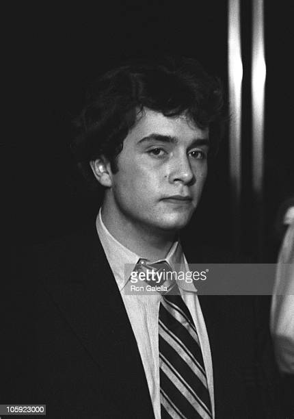 Anthony Radziwill during Thanksgiving Party at Sibils November 21 1977 at Sibils in New York City New York United States