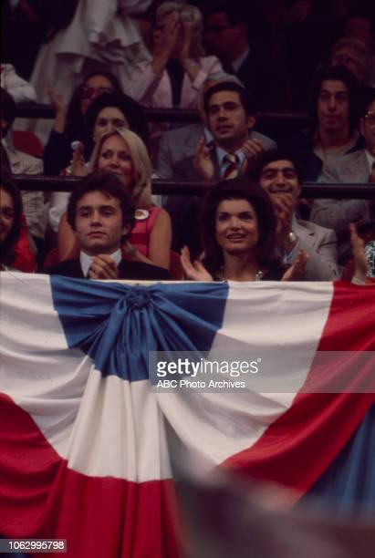 Anthony Radziwill Former First Lady Jacqueline Kennedy at the 1976 Democratic National Convention Madison Square Garden in New York City