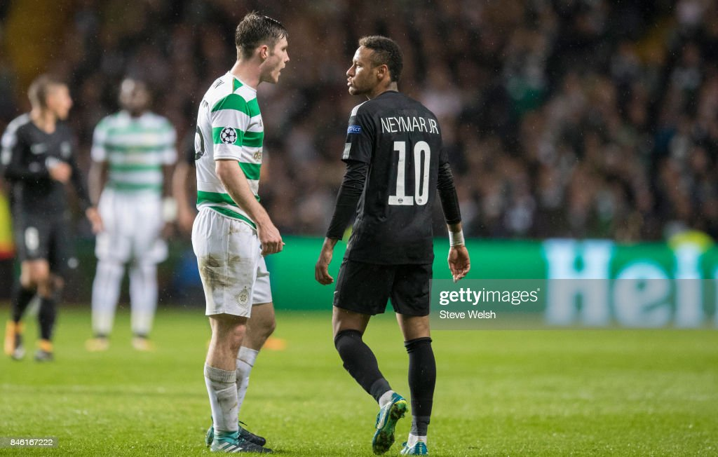 Celtic v Paris Saint Germain - UEFA Champions League , : News Photo