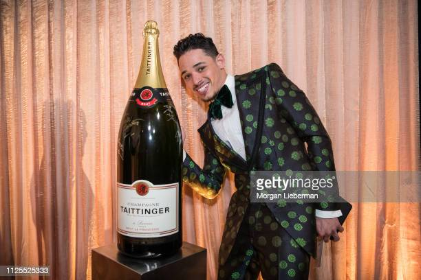 Anthony Ramos at the 25th Annual Screen Actors Guild Awards cocktail party at The Shrine Auditorium on January 27 2019 in Los Angeles California
