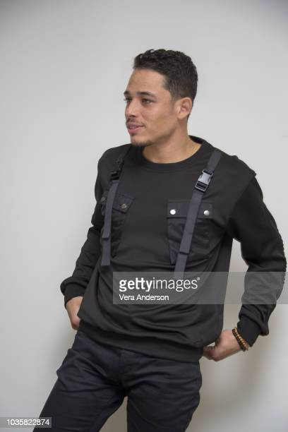 Anthony Ramos at the 'Monsters and Men' Press Conference at the Four Seasons Hotel on September 17 2018 in Beverly Hills California
