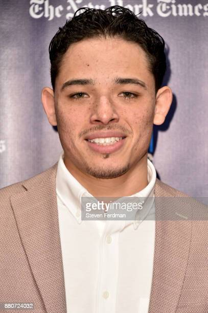 Anthony Ramos attends IFP's 27th Annual Gotham Independent Film Awards at Cipriani Wall Street on November 27 2017 in New York City
