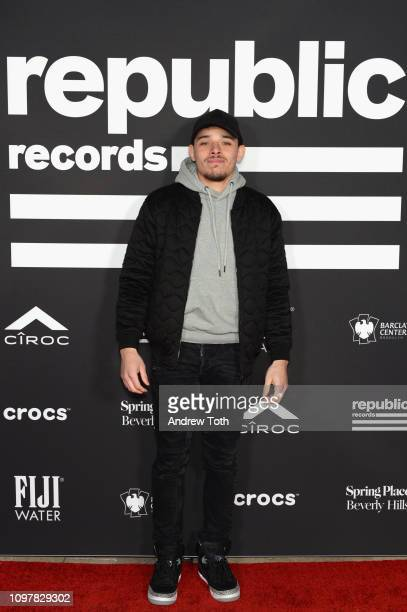 Anthony Ramos attends Republic Records Grammy after party at Spring Place Beverly Hills on February 10 2019 in Beverly Hills California