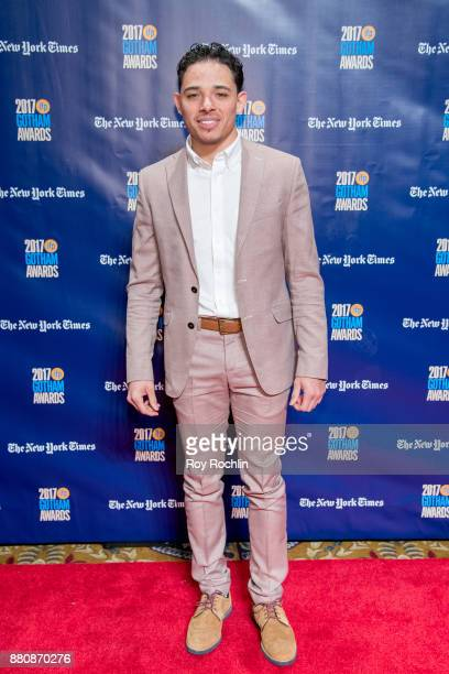 Anthony Ramos attends the 2017 IFP Gotham Awards at Cipriani Wall Street on November 27 2017 in New York City