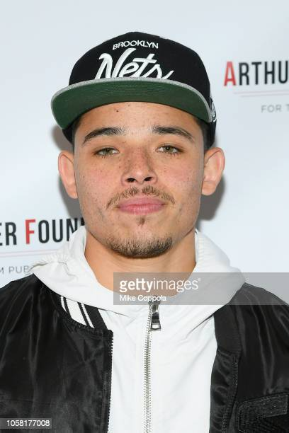 Anthony Ramos attends the 2018 Arthur Miller Foundation Honors at City Winery on October 22, 2018 in New York City.