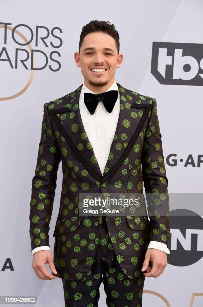 Anthony Ramos attends the 25th Annual Screen ActorsGuild Awards at The Shrine Auditorium on January 27 2019 in Los Angeles California 480645