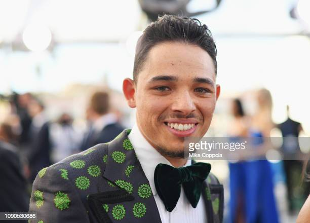 Anthony Ramos attends the 25th Annual Screen ActorsGuild Awards at The Shrine Auditorium on January 27 2019 in Los Angeles California 480543