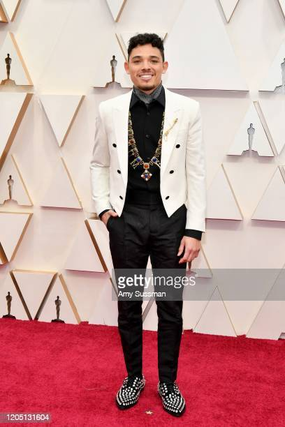 Anthony Ramos attends the 92nd Annual Academy Awards at Hollywood and Highland on February 09 2020 in Hollywood California