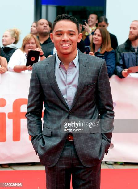 Anthony Ramos attends the A Star Is Born premiere during 2018 Toronto International Film Festival at Roy Thomson Hall on September 9 2018 in Toronto...