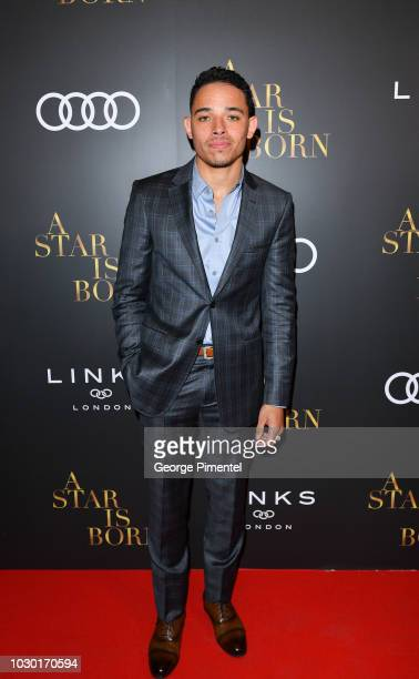 Anthony Ramos attends the Audi Canada And Links Of London CoHosted PostScreening Event For A Star Is Born During The Toronto International Film...
