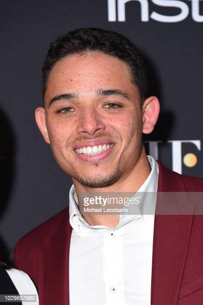 Anthony Ramos attends The Hollywood Foreign Press Association and InStyle Party during 2018 Toronto International Film Festival at Four Seasons Hotel...