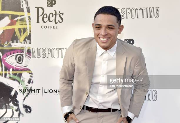 Anthony Ramos attends the premiere of Summit Entertainment's 'Blindspotting' at The Grand Lake Theater on July 11 2018 in Oakland California