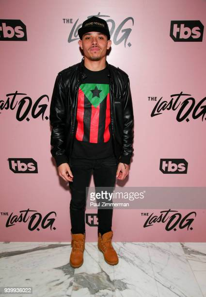 Anthony Ramos attends The Premiere Of The Last OG at The William Vale on March 29 2018 in New York City
