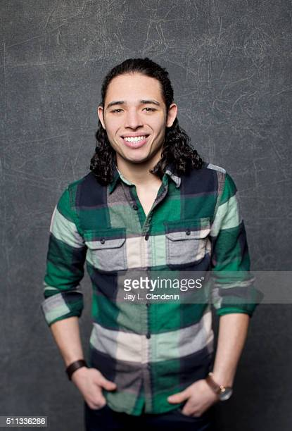 Anthony Ramos of 'White Girl' poses for a portrait at the 2016 Sundance Film Festival on January 24 2016 in Park City Utah CREDIT MUST READ Jay L...
