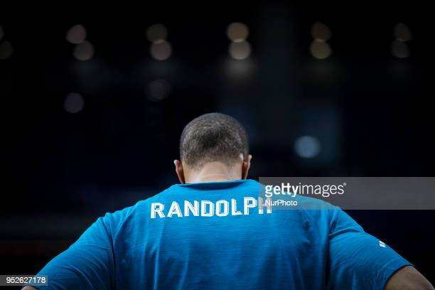 Anthony Randolph of Real Madrid prior the Turkish Airlines Euroleague Play Offs Game 4 between Real Madrid v Panathinaikos Superfoods Athens at...