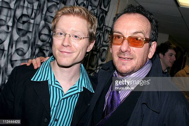 Anthony Rapp and Elvis Costello