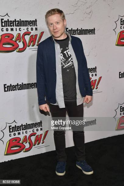 Anthony Rapp at Entertainment Weekly's annual ComicCon party in celebration of ComicCon 2017 at Float at Hard Rock Hotel San Diego on July 22 2017 in...