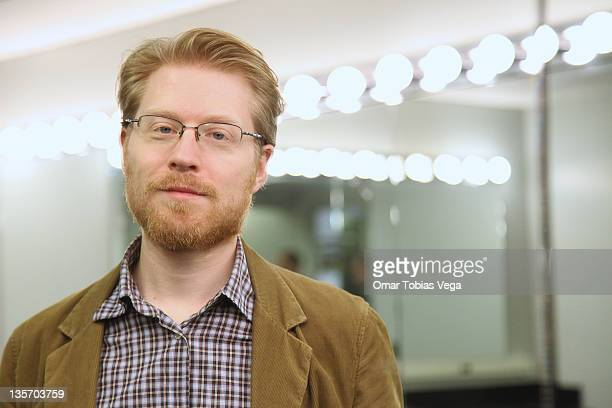 Anthony Rapp attends Rapp Reads Rapp at the Symphony Space on December 12 2011 in New York City