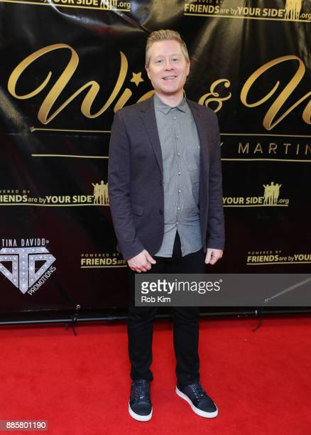 Anthony Rapp attends the 2017 One Night With The Stars Benefit at The Theater at Madison Square Garden on December 4 2017 in New York City