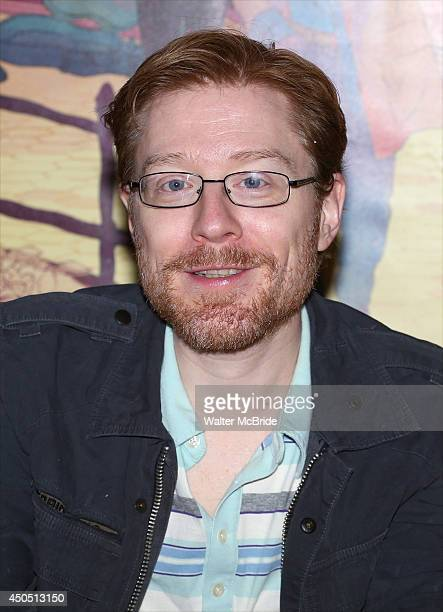 Anthony Rapp attends the 'If/Then' Broadway Cast CD Signing at the Sony Store on June 12 2014 in New York City