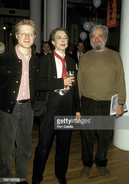 Anthony Rapp Cynthia O'Neal and Stephen Sondheim