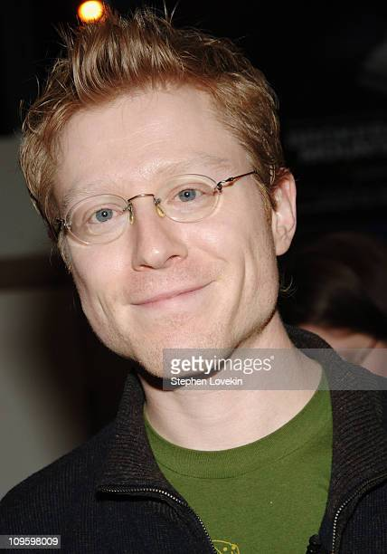 Anthony Rapp during Anthony Rapp Signs His Book 'Without You' at Barnes Noble in New York City February 21 2006 at Barnes Noble Chelsea in New York...