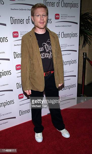 Anthony Rapp during Dinner of Champions to Honor Tom Sherak September 16 2005 at Kodak Theater in Hollywood California United States