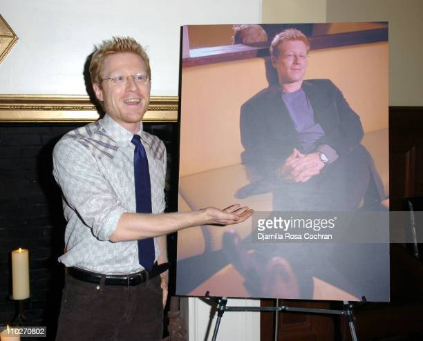 Anthony Rapp during Gotham Magazine and Versace Precious Watches Celebrate Steven Pasquale and Anthony Rapp at Chemist Club in New York City New York...