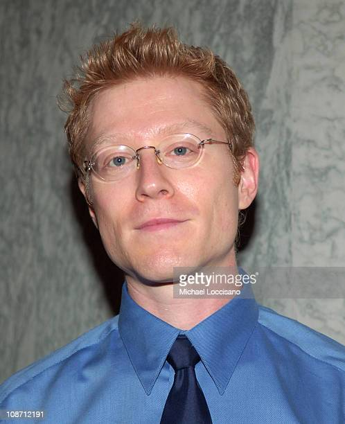 Anthony Rapp during 'Innocent Voices' Premiere at the United Nations Headquarters at UN Headquarters in New York NY United States