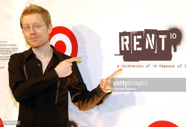 Anthony Rapp during 'Rent' 10th Anniversary Celebration After Party at Cipriani 42nd Street in New York City New York United States