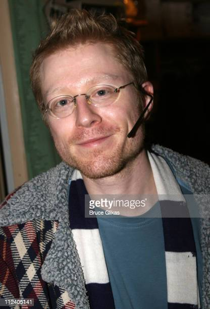 Anthony Rapp during 'Rent' Celebrates 10th Anniversary on Broadway April 24 2006 at The Nederlander Theater in New York New York United States