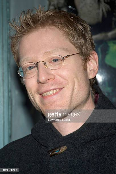Anthony Rapp during Rent New York City Premiere Cast and Crew Party at Life Cafe in New York City New York United States