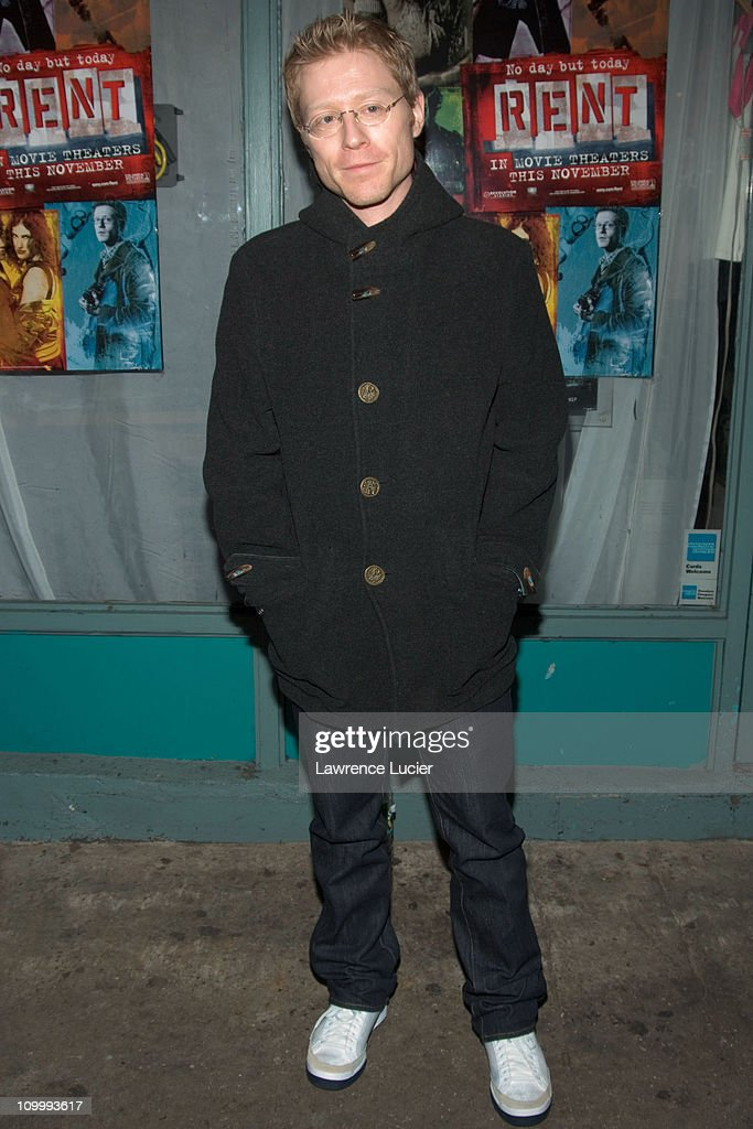 Anthony Rapp during Rent New York City Premiere - Cast and Crew Party at Life Cafe in New York City, New York, United States.