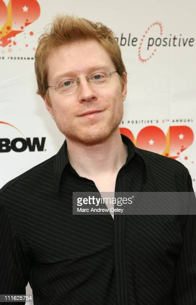 Anthony Rapp Host during 5th Annual Cable Positive Pop Awards Arrivals at IFC Center in New York New York United States