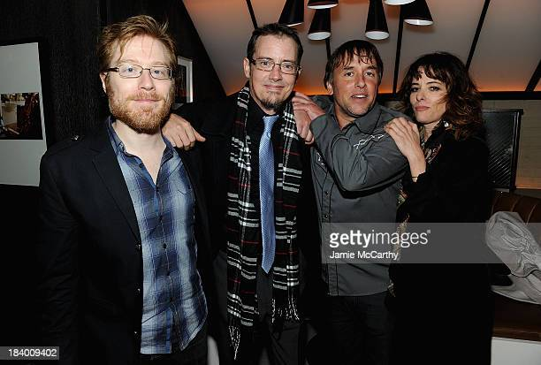 Anthony Rapp Jason London director Richard Linklater and Parker Posey attend the 'Dazed And Confused' 20th Anniversary Screening 'Only Lovers Left...