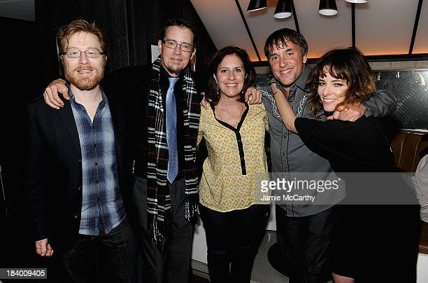 Anthony Rapp Jason London Kahane Cooperman director Richard Linklater and Parker Posey attend the 'Dazed And Confused' 20th Anniversary Screening...