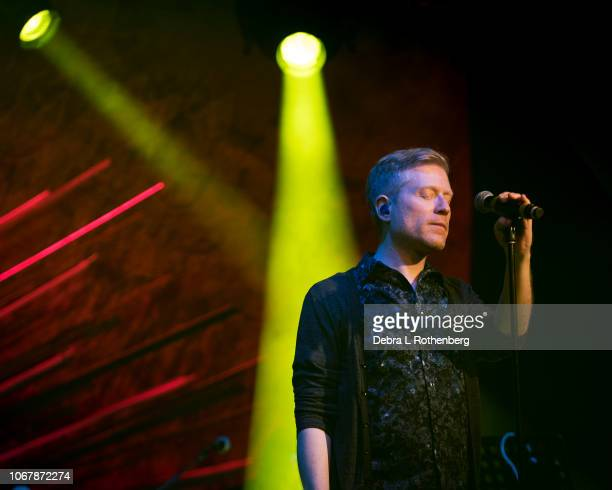 Anthony Rapp performs live in concert at Sony Hall on December 2 2018 in New York City