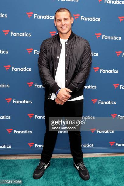 Anthony Rizzo attends Michael Rubin's Fanatics Super Bowl Party at Loews Miami Beach Hotel on February 01, 2020 in Miami Beach, Florida.