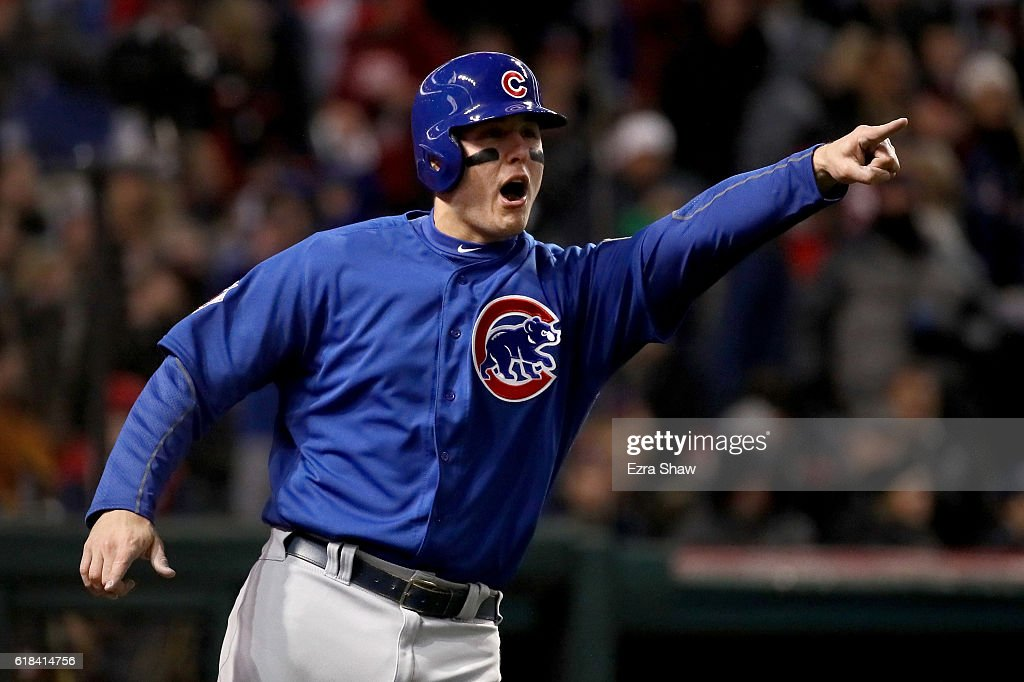 World Series - Chicago Cubs v Cleveland Indians - Two : News Photo