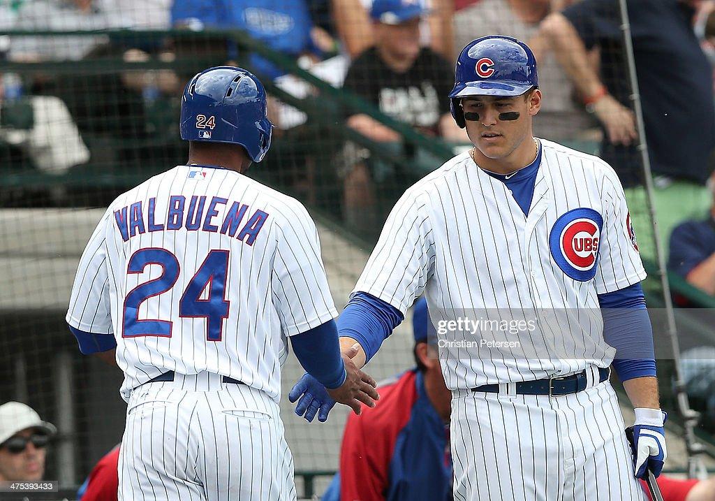 Arizona Diamondbacks v Chicago Cubs : News Photo