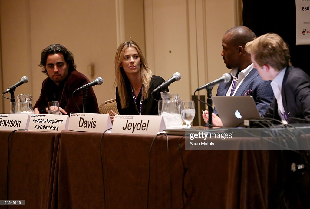 Pro Athletes Taking Control Of Their Brand Destiny - 2016 SXSW Music, Film + Interactive Festival : News Photo