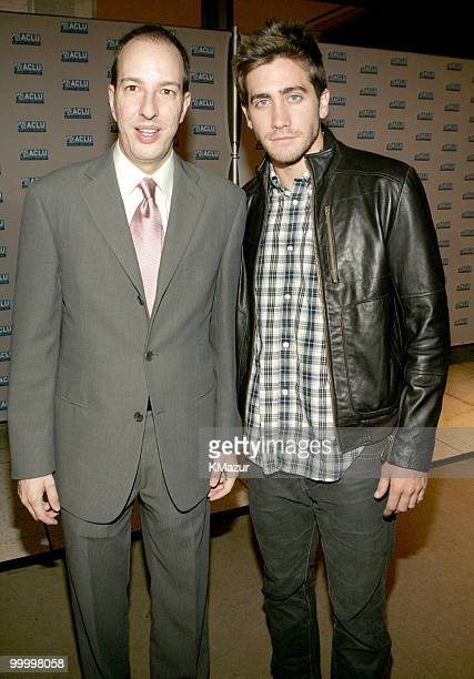 Anthony Romero executive director of ACLU and Jake Gyllenhaal